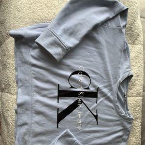 Calvin Klein Crew Neck Crop Top